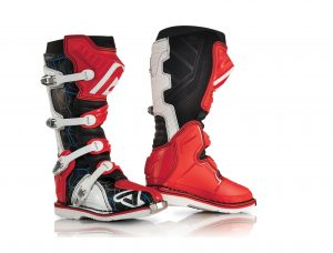Acerbis Stiefel X-PRO V - rot/weiss