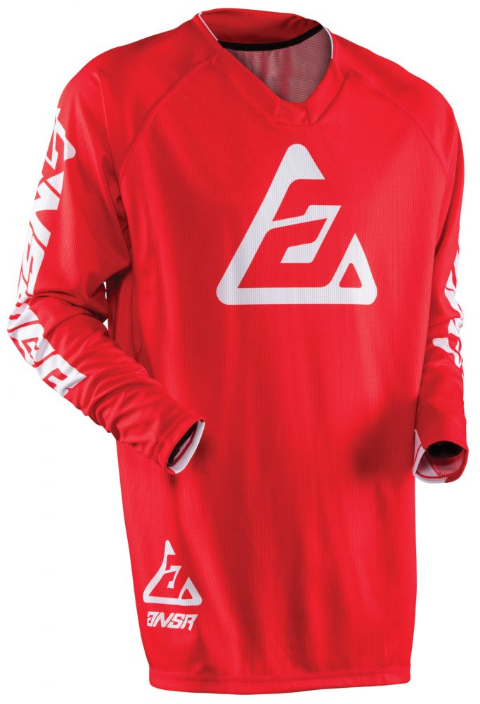 ANSWER 2018 Elite Motocross Jersey Rot