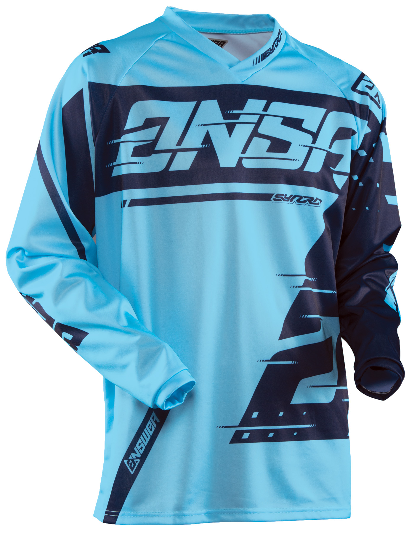 ANSWER 2018 Syncron Motocross Jersey Blau/Navy