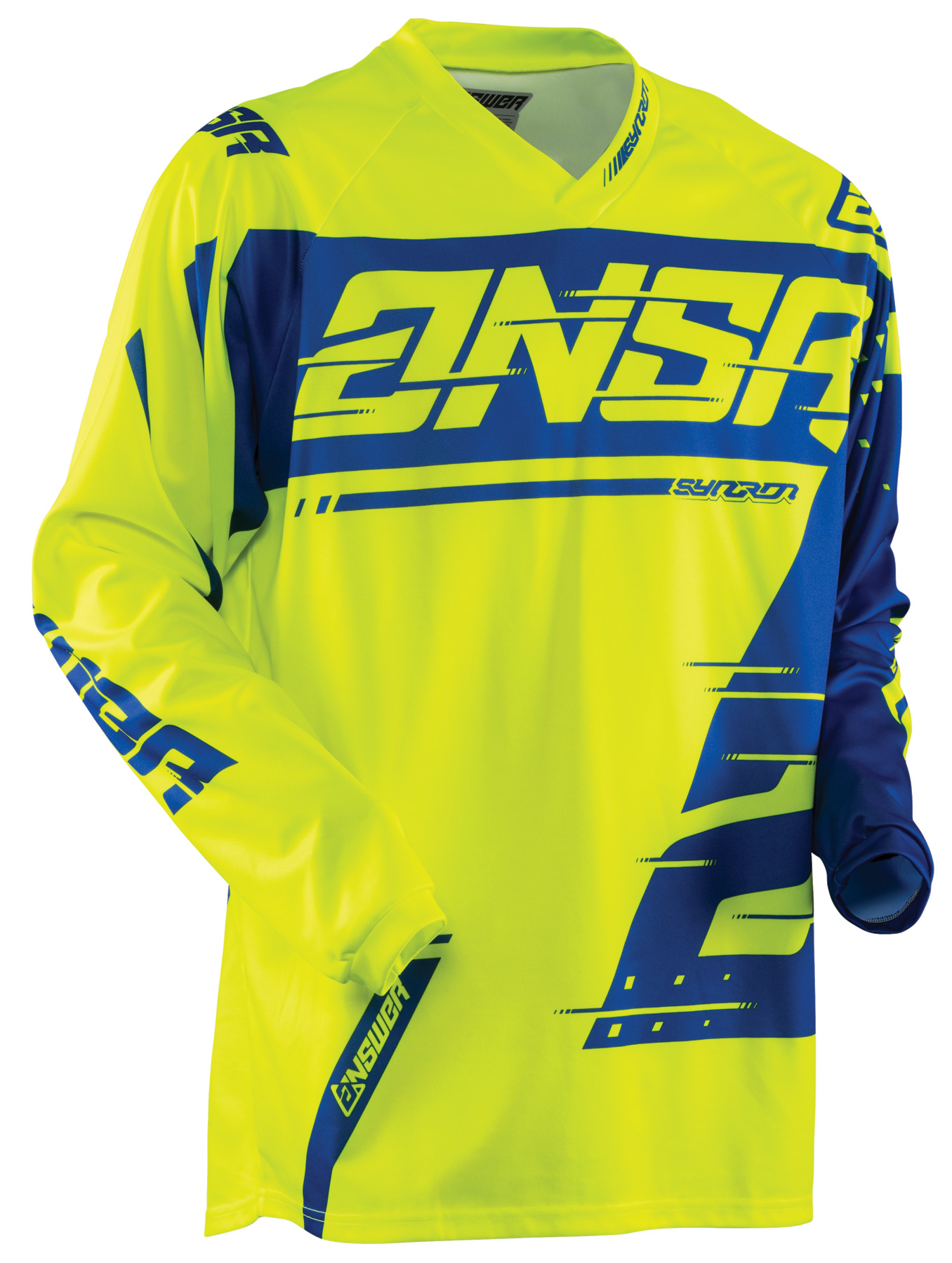 ANSWER 2018 Syncron Motocross Jersey Gelb/Blau