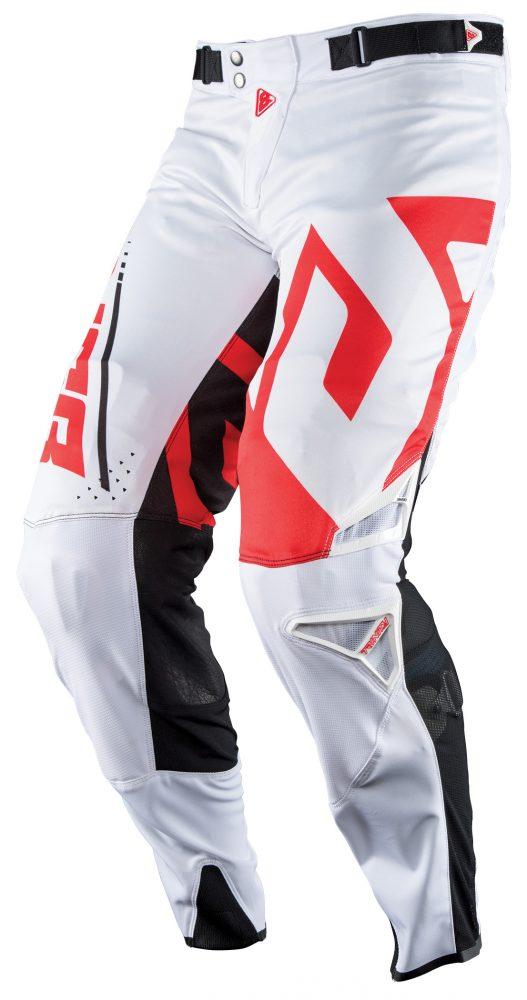 ANSWER 2018 Trinity Motocross Hose Weiss/Rot