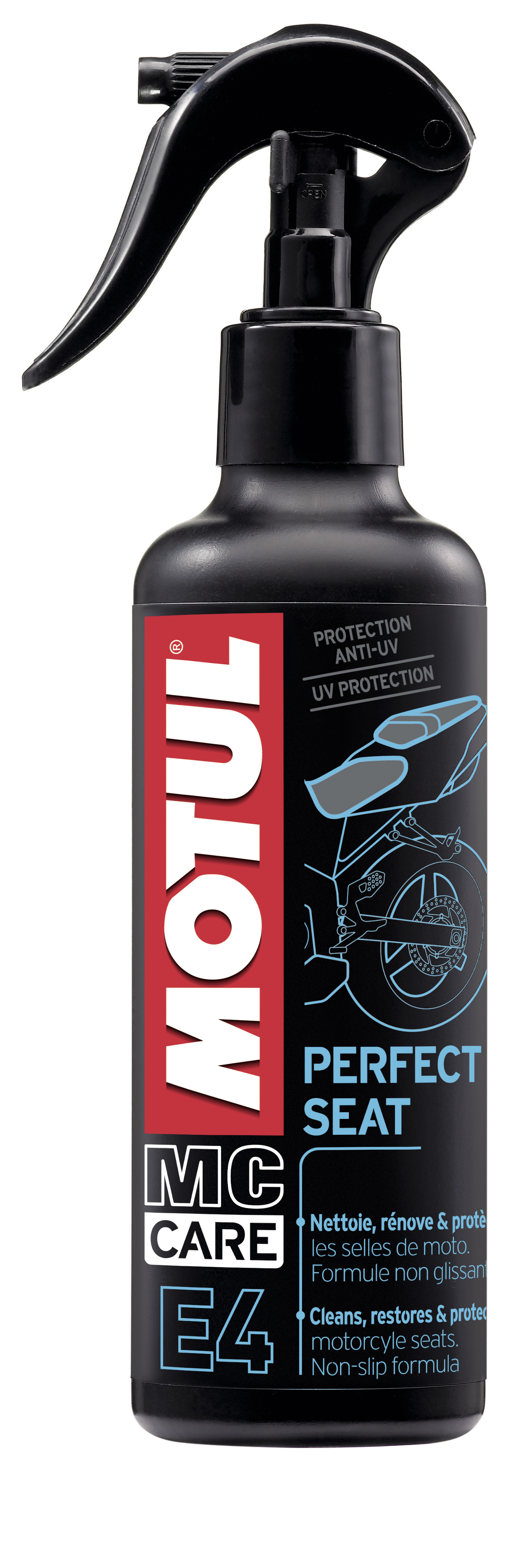Motul E4: Perfect Seat